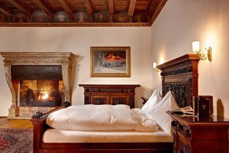 Königin Juliana Hochzeitssuite - Hotel Schloss Mittersill