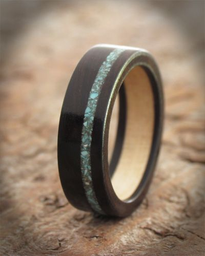 Wooden Promise Rings Are Given To Symbolise Friendship And