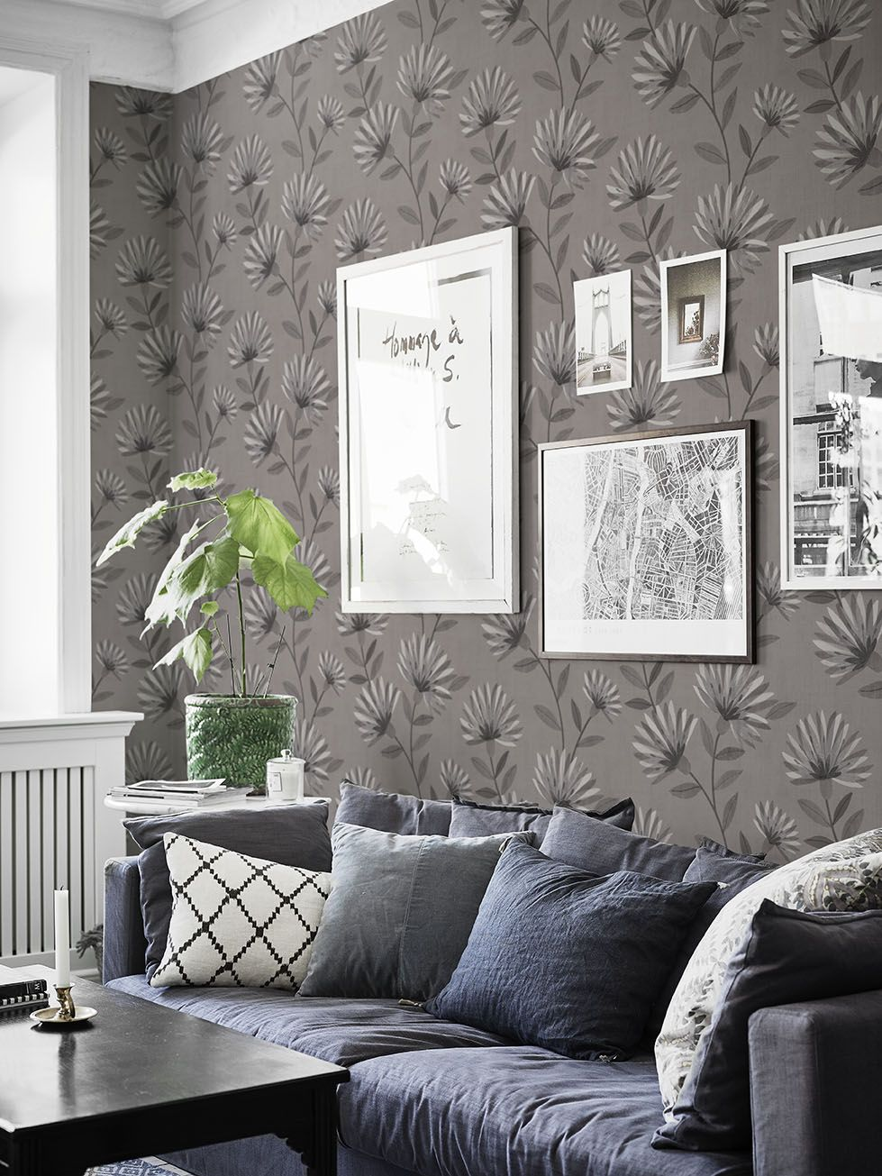 Chic Contemporary Modern Wallpaper Our Bessie Wallpaper Chic And Unashamedly Contemporary It Blends