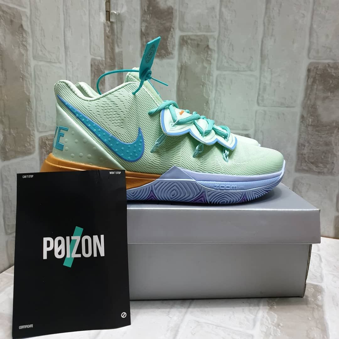 Get Your Free Nba Jersey Gift Sepatu Basket Nike Kyrie 5 Squidward