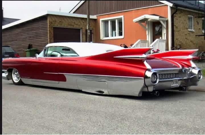 59 Cadillac custom   Praise the lowered   Pinterest   Cadillac, Cars