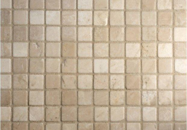 Botticino Tumbled Marble Mosaic Tiles | My tuscan Home | Pinterest ...