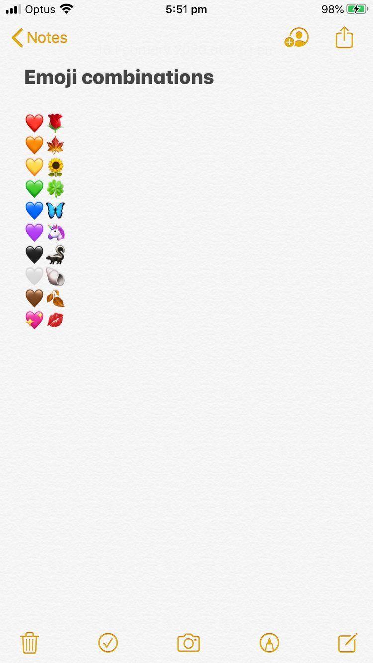 Decoracion In 2020 Emoji Combinations Instagram Emoji Cute Instagram Captions