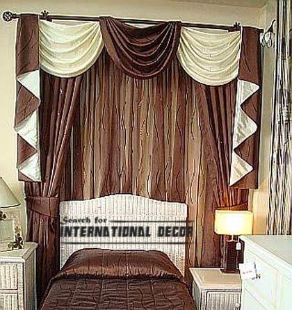luxury burgundy curtain designs for hallway | curtain designs