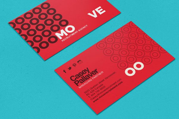 25 new amazing business cards best of april and may 2014 unique business card move businesscards design httppinterestaldenchong reheart Images