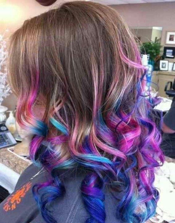cotton candy ombre hair. awesome