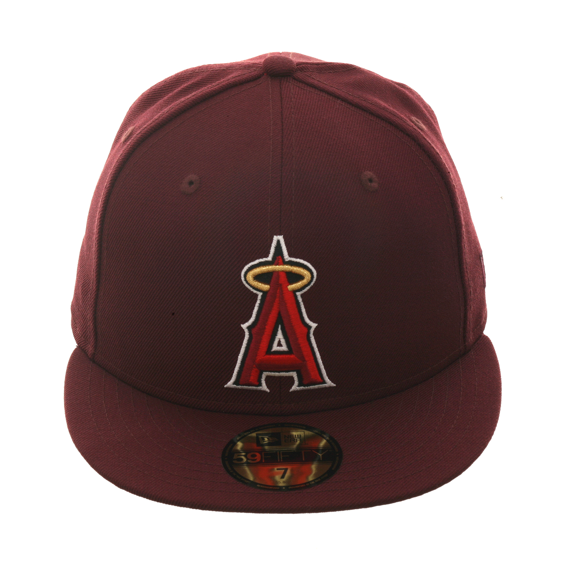 d5ae29a3 Exclusive New Era 59Fifty Los Angeles Angels Hat - Maroon in 2019 ...