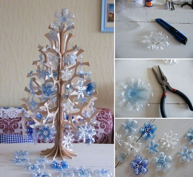 Christmas Decorations Made Out Of Plastic Bottles 5 Creative Plastic Bottle Christmas Craft Ideas  Httpwww
