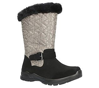 Easy Dry by Easy Street Waterproof Boots - Boulder - QVC.com