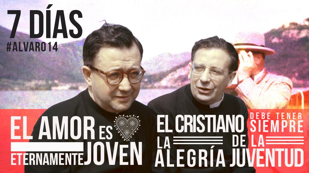 ¡Cada vez falta menos! #7días para #alvaro14