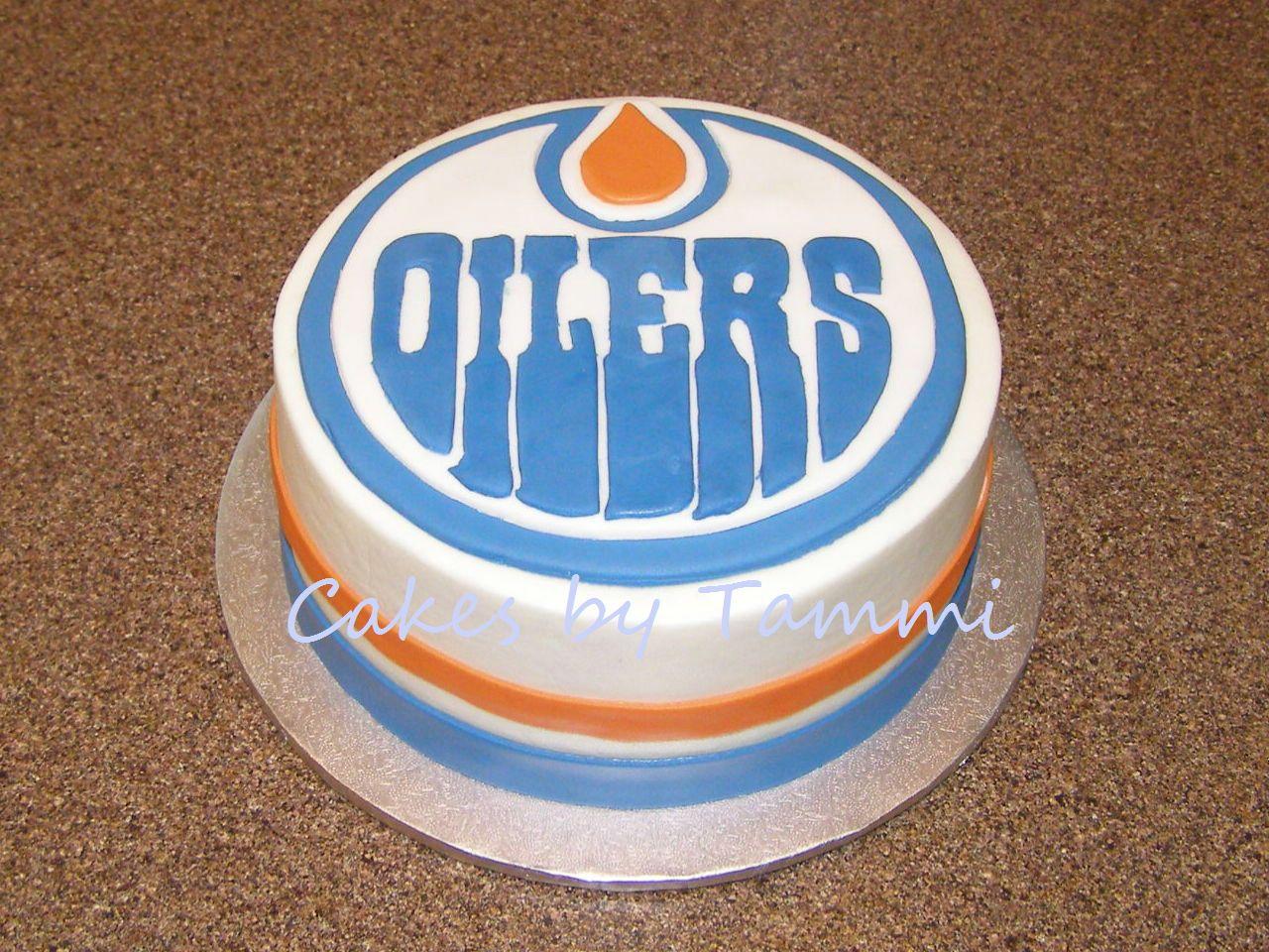 Edmonton Oilers Smash Cake Cool Cakes Pinterest Smash cakes