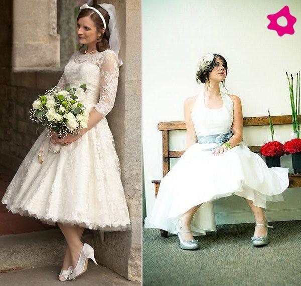 Look de novia de los años 50 | Vestidos | Pinterest | De novia, Años ...