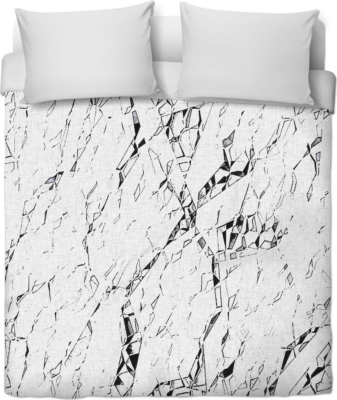 cracks cramped paper abstract duvet cover design cramped paper