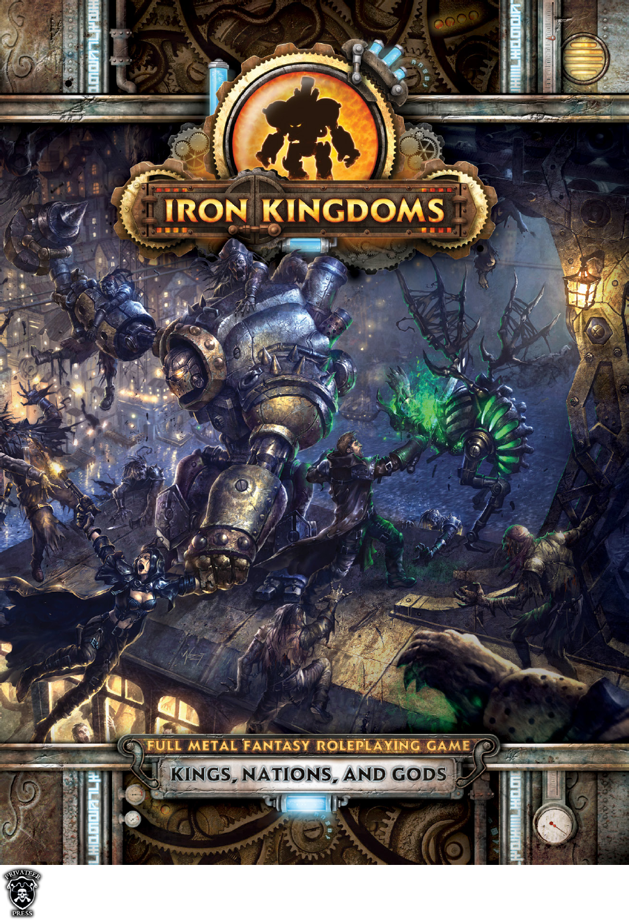 INTRODUCTION for Iron Kingdoms Kings, Nations and Gods