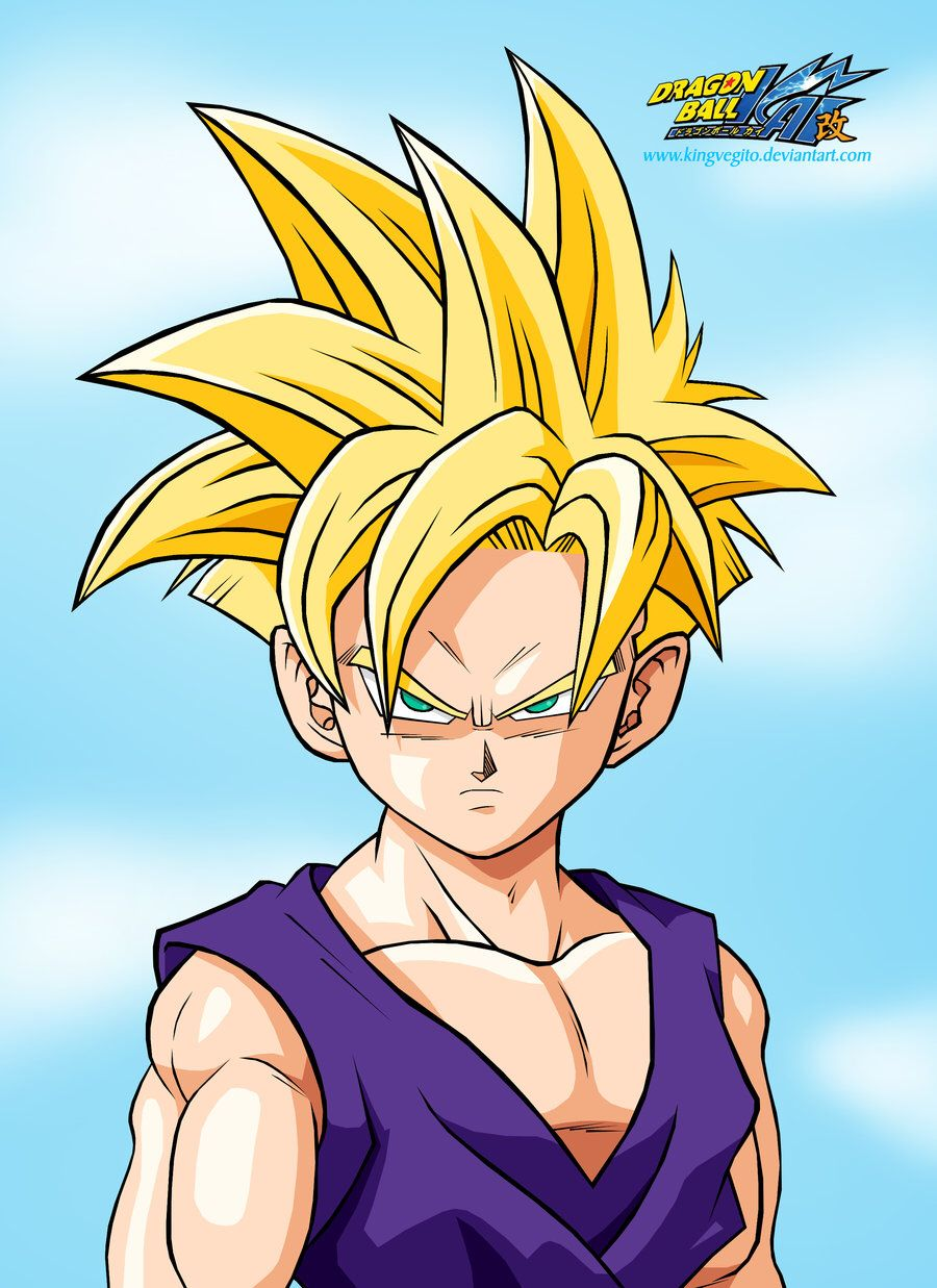 Gohan Ssj Finished Dragon Ball Super Manga Anime Dragon Ball Super Dragon Ball Painting