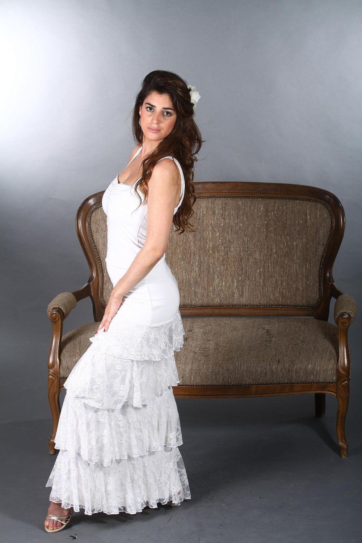 Wedding dress, Vintage dress,Flamenco spanish style , Flamencita ...