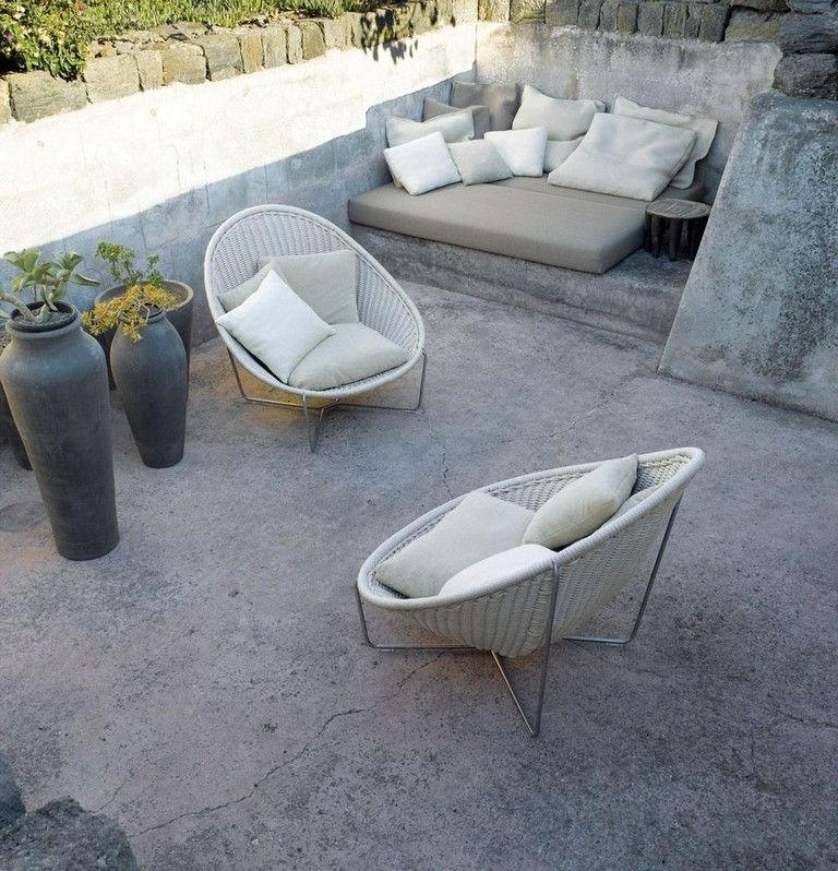 30 Amazing Furniture Ideas For Your Garden Lounge Chair Outdoor Modern Patio Furniture Small Patio Furniture