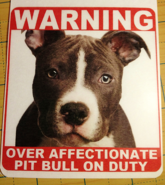 Pit Bull Dog Door Sign Free Shipping Hound Pet Puppy American