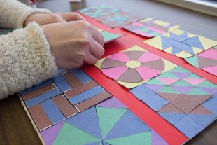Paper Quilt Craft For Kids With Traditional Quilting Patterns