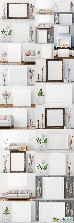 Interior Mockup Freebie | Best PSD Freebies | Art Marketing ...