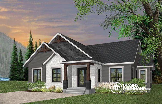 Plan de maison no W3284-CJ de dessinsdrummond House plans i