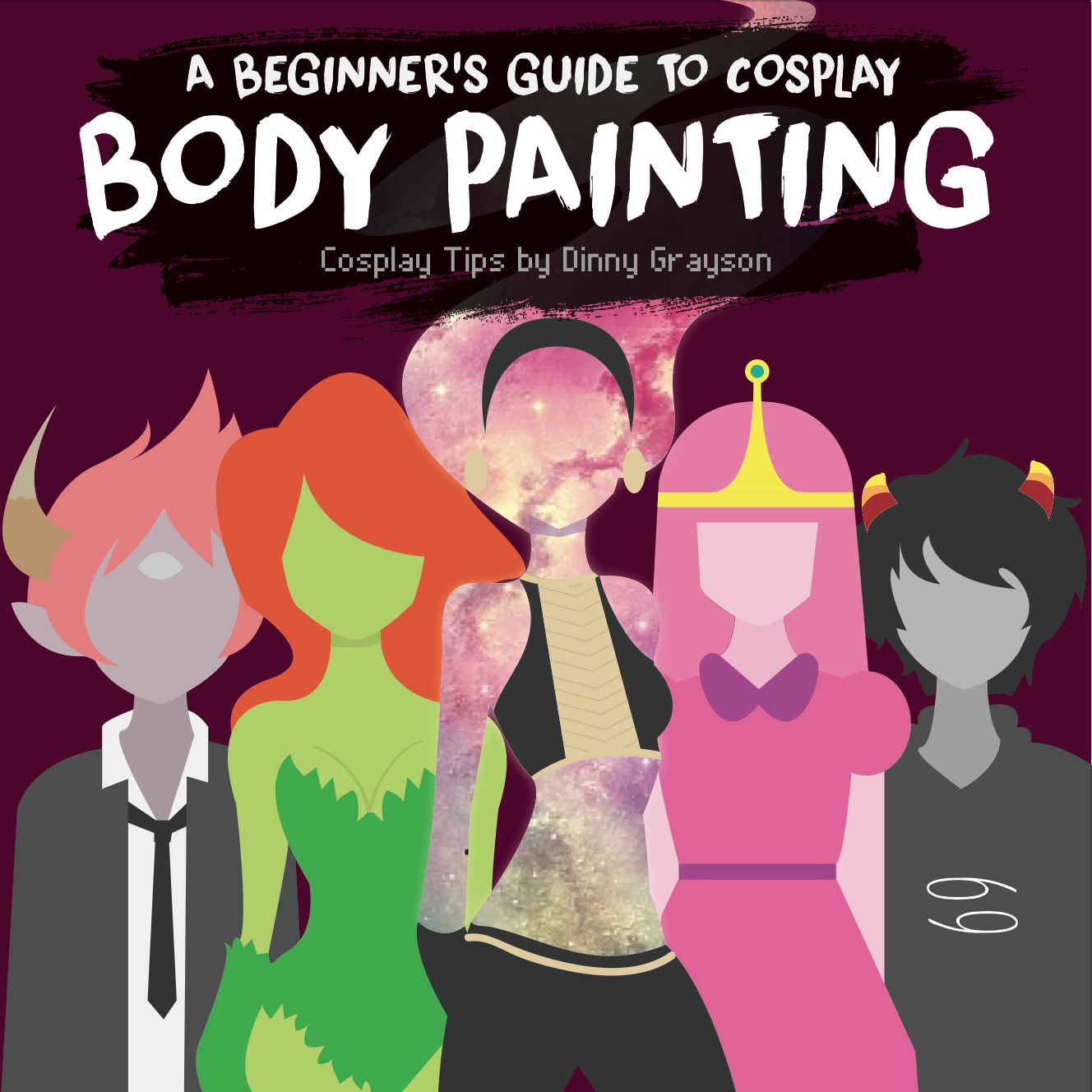 Cosplay body paint tutorial