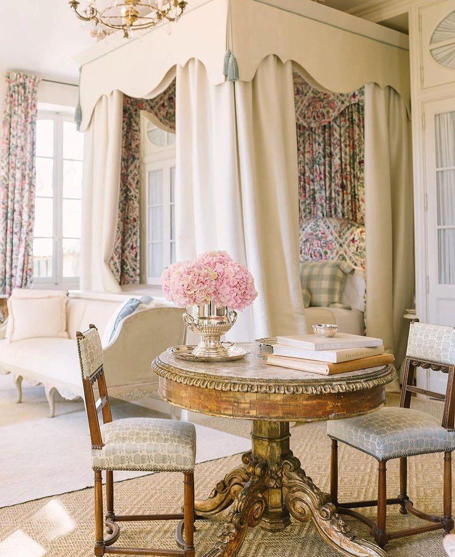 Dkf On Instagram Evening Provencepoiriers Villeneuvelesavignon France Inspiration Compl In 2021 French Master Bedroom Interior Design Bedroom Gorgeous Bedrooms [ 1123 x 917 Pixel ]