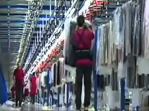 Impresionante centro logistico de Inditex en Arteijo (España) INDITEX-ZARA 50.0.00 - 5086 - YouTube