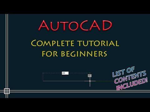 Autocad Complete Tutorial For Beginnerv C