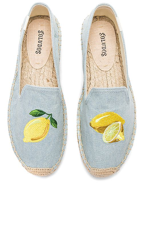 4a647db7a78 Soludos Lemon Platform in Chambray