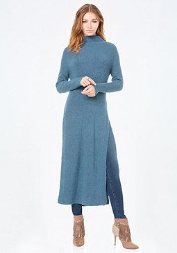 Maxi Sweater Tunic at bebe | It's all about the outfits ...
