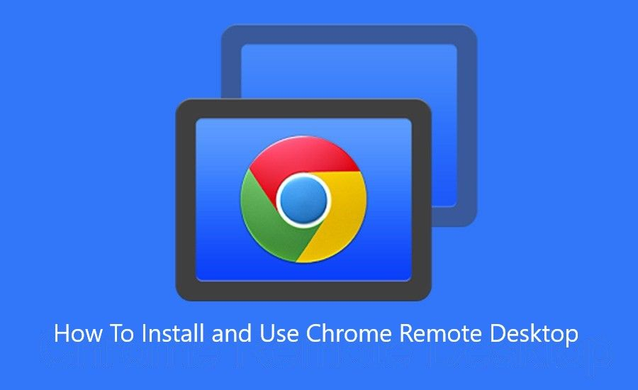 Add Chrome Remote Desktop and access your desktop from anywhere