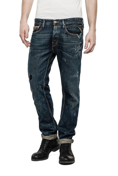 1aa20d42 Jeans Man Slim Fit - Replay Maestro Selection RONAS 946 506 EUR 260,00 EUR  130,00 MA946B.000.946 506 .009 Men's slimfit 5-pocket jeans with button  fly, ...