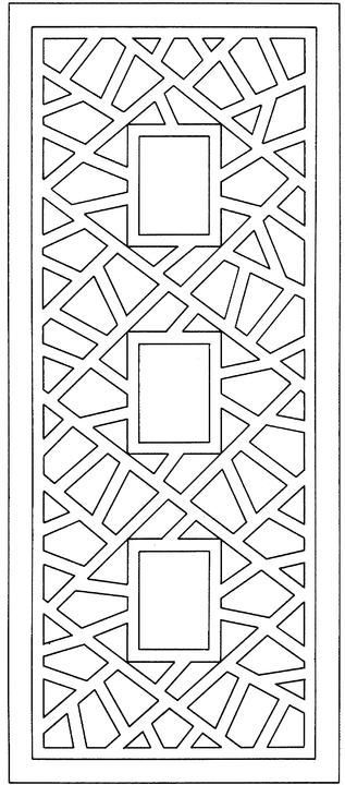 Geometric Rectangle Design: | PLÀSTICA | Pinterest | Mandala ...