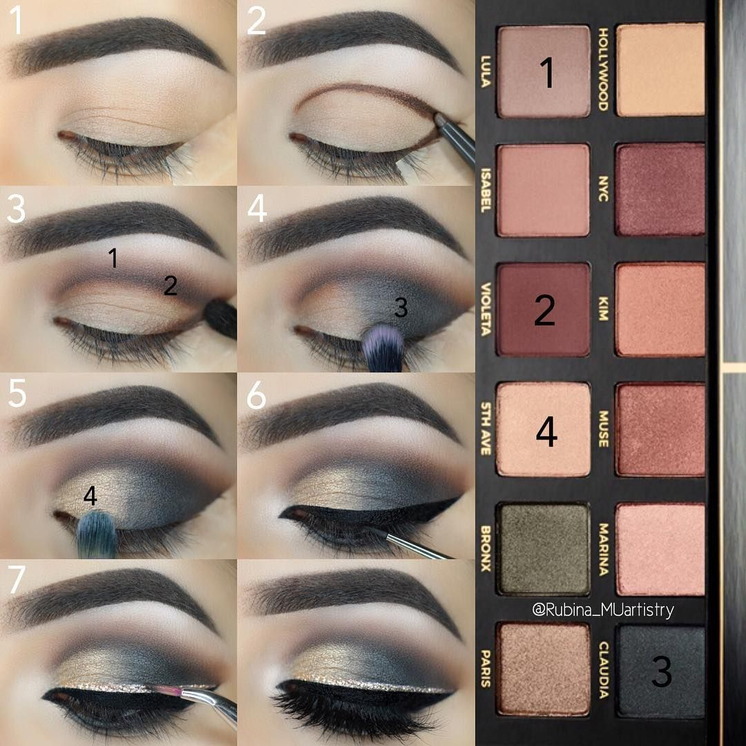 "@rubina_muartistry) on Instagram: ""When I first bought this pallets, I had very hard time combining the colors. But lately, I've been…"""
