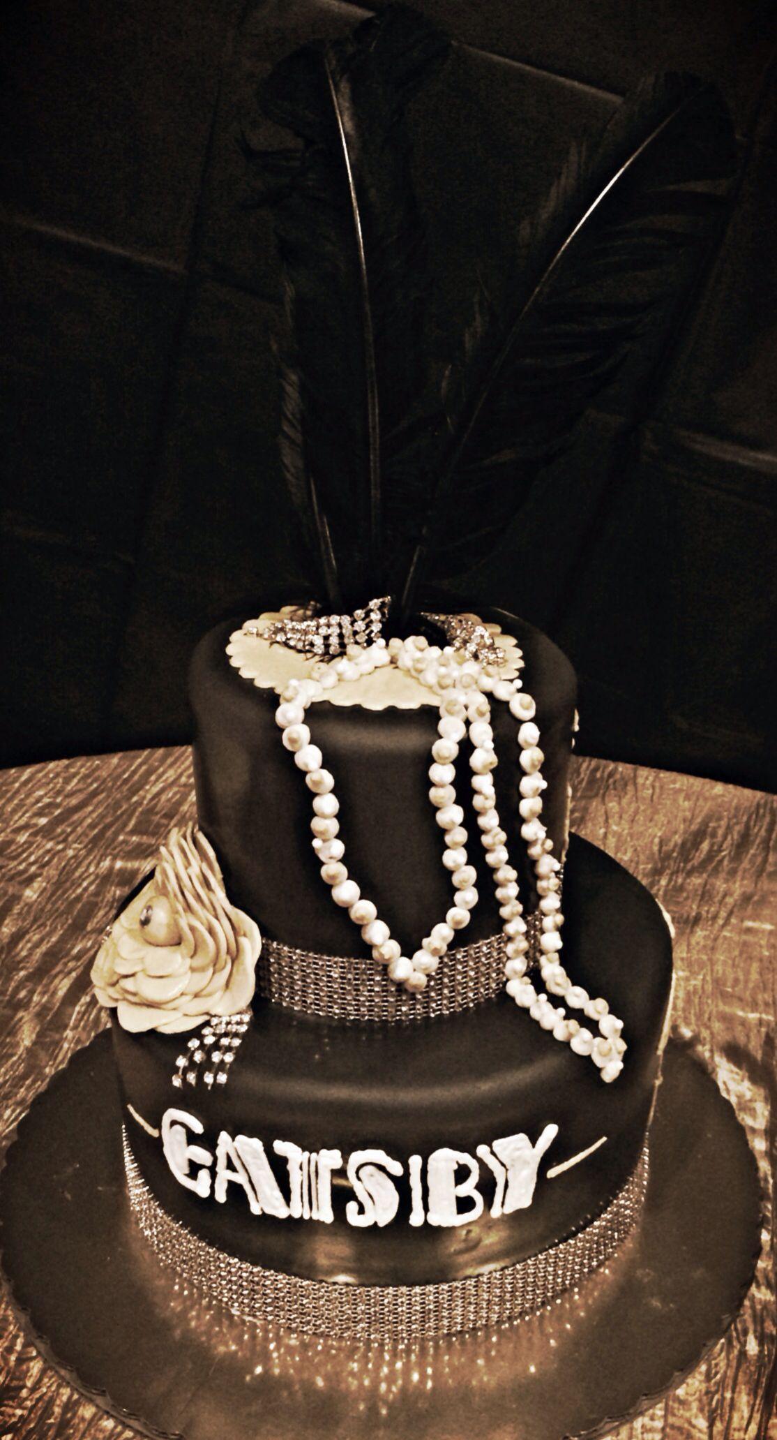 Great Gatsby wedding cake cool Wedding cakes