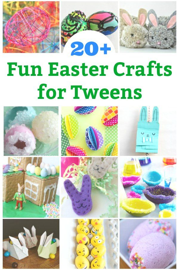 20 Cool Easter Crafts For Tweens To Make Tween Teen Crafts And