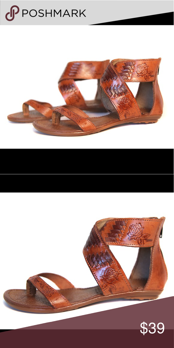 8bc068caeb70 Women s Mexican Huaraches - Style OF203 Tan A twist on the classic huarache  sandal. These sandals feature the handmade artisan detail while combining a  ...