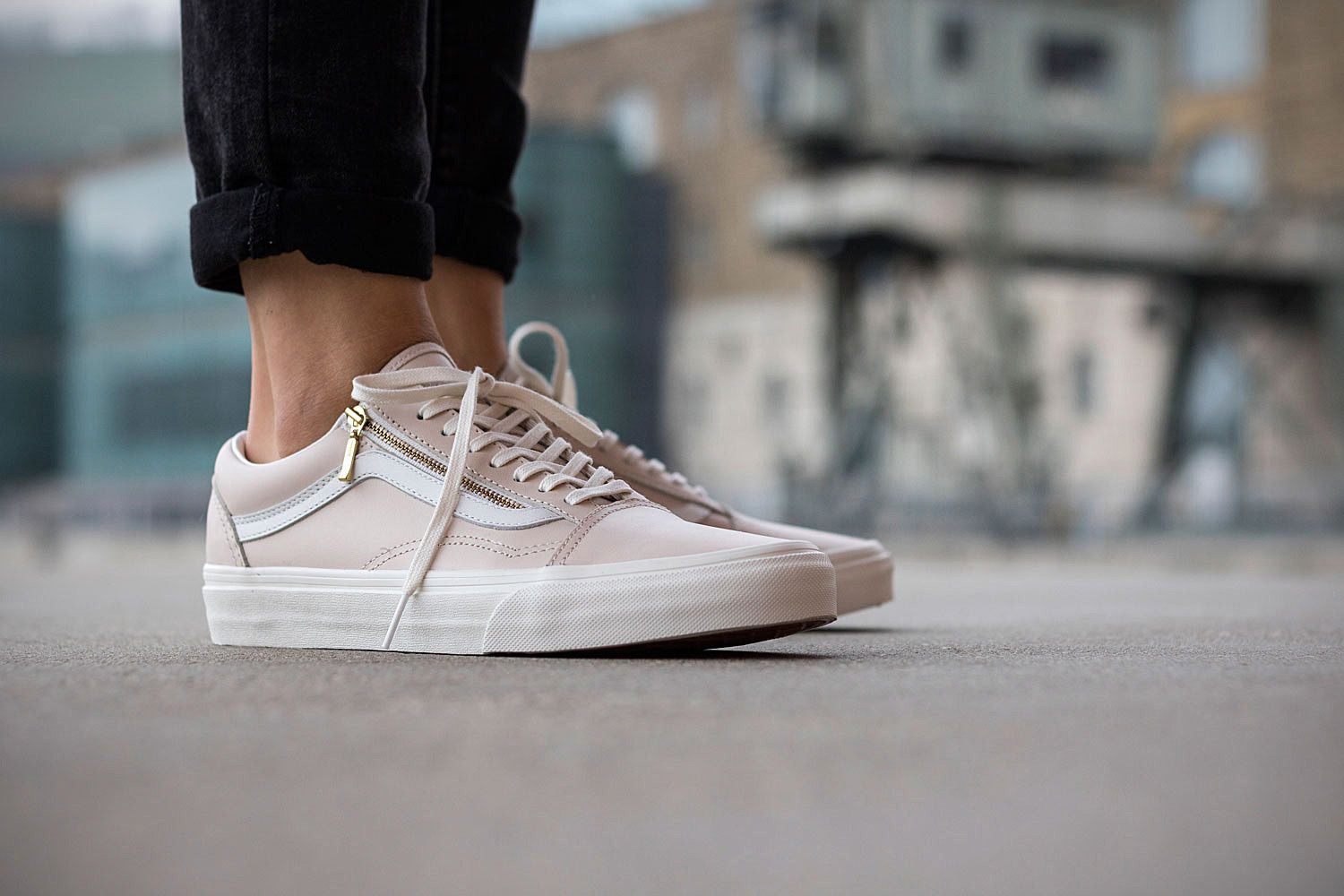 vans old skool zip damen