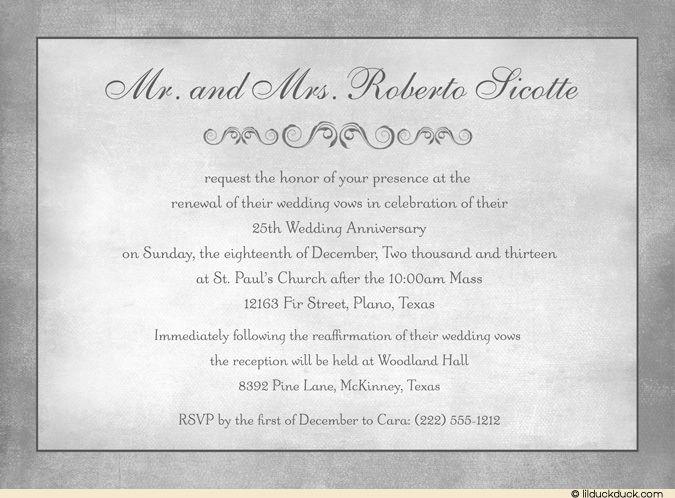 Lilduckduck Com Vow Renewal Invitations Wedding Renewal Invitations Vows