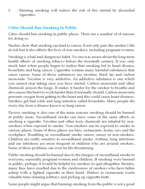 Grade 10 Persuasive Essay Composition Writing Skill Page 6 English Therapy Skills On Smoking Cigarettes