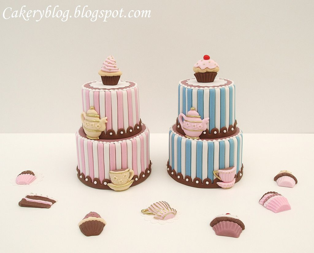 Tea Party Mini Cakes
