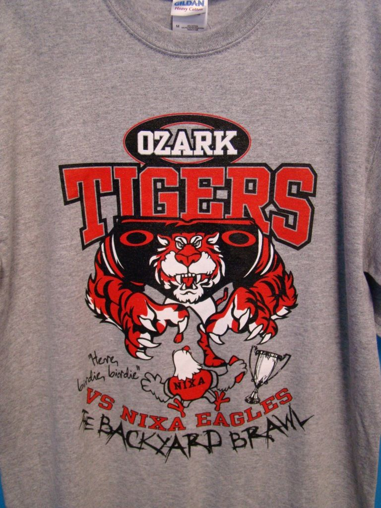 ozark tigers nixa eagles backyard brawl ozark tigers pinterest