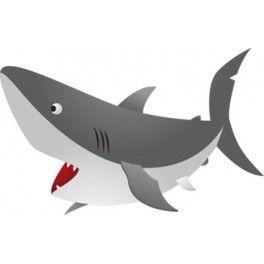 Dibujos De Tiburones Infantiles Buscar Con Google Caricaturas De Animales Dibujo De Tiburon Tiburones