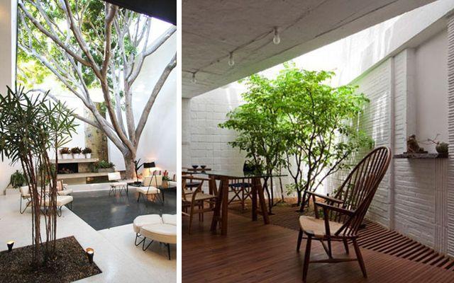 Decofilia blog viviendas con jard n interior patios for Decoracion patios internos