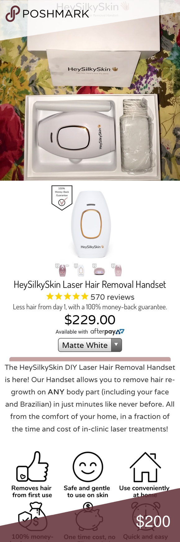 At home Hair removal laser Sick of shaving or expensive