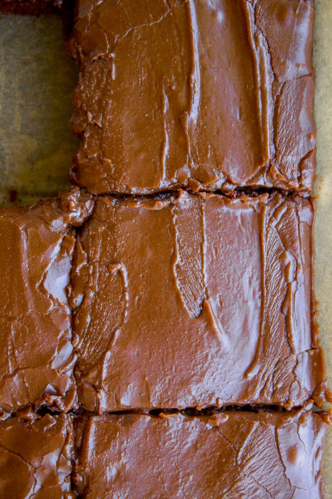 The Only Texas Sheet Cake You Ll Ever Need From The Food Charlatan This Recipe Is The One You Guys As In T Texas Sheet Cake Sheet Cake Chocolate Sheet Cake