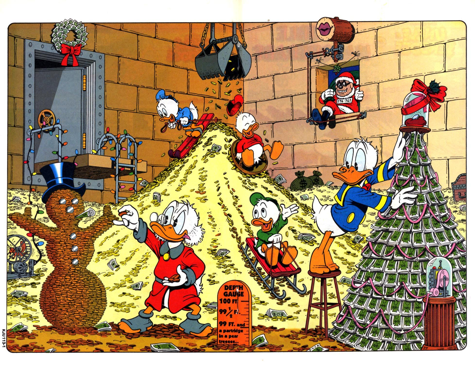 Scrooge Mcduck Christmas.Christmas In The Money Bin By Don Rosa Uncle Scrooge