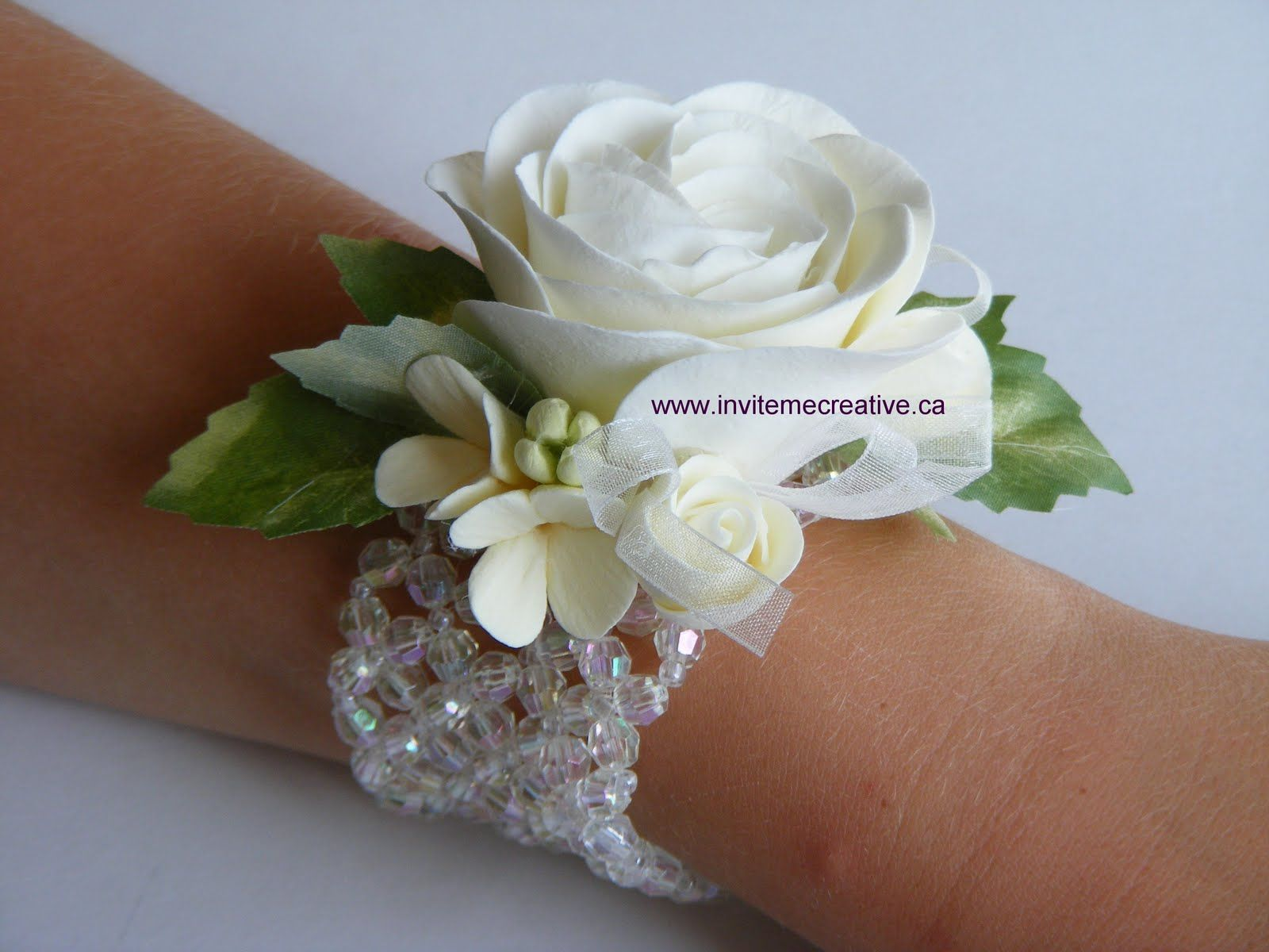 Prom Wrist Corsages Announcements Prom Flowers Corsages