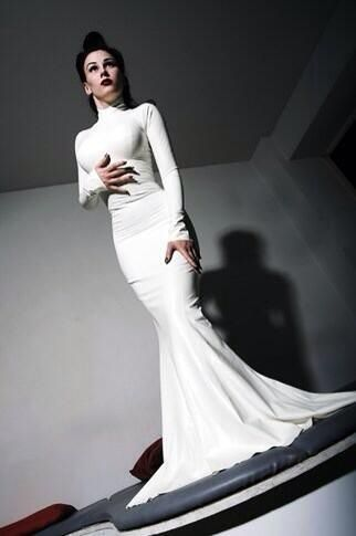 Possible Wedding Dress In Latex